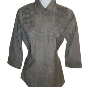 Mexx Gray Blouse Size 14